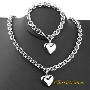 **NEW** Stainless Steel Chain Necklace and Bracele
